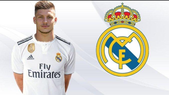 Luka Jovic Resmi Di Perkenalkan Oleh Real Madrid