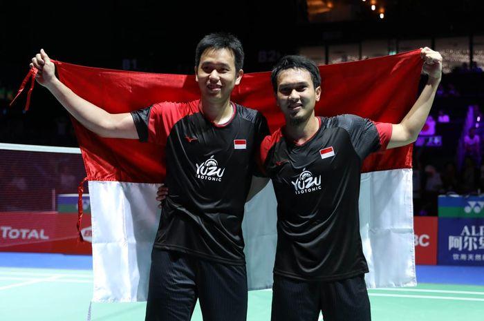 Prestasi Ahsan Dan Hendra Pada Delapan Semifinal China Open 2019