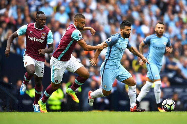 Statistik Laga Manchester City Vs West Ham