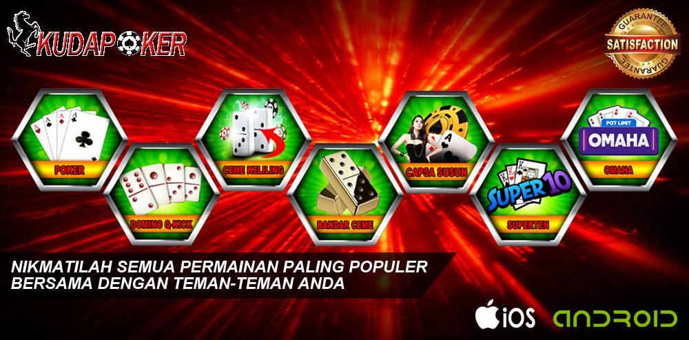 Kelebihan Dari Bermain Idn Poker di Situs KudaPoker